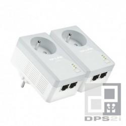 Kit d'adaptateurs CPL AV500 2 ports avec prise gigogne TP-Link