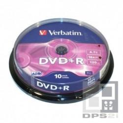 DVD +R spindle de 10 Verbatim
