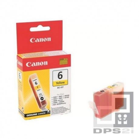 Canon 6 jaune