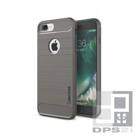 Housse silicone TPU iphone 8 gris foncé
