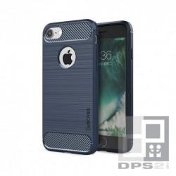 Housse silicone TPU iphone 8 bleu foncé