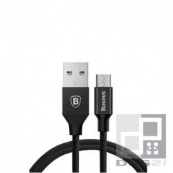 Câble micro USB noir tressé Baseus