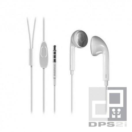Écouteurs kit mains libres blanc pure music Remax