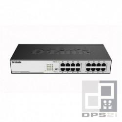 Switch ethernet 16 ports gigabit D-Link