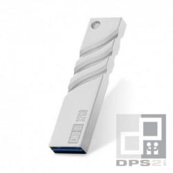 Clé USB 32 Go métal argent USB 3.0