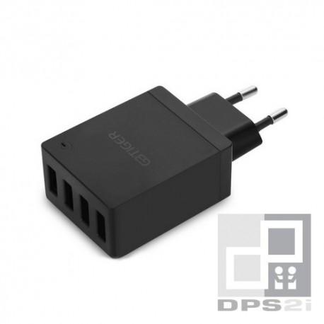Chargeur secteur 4 ports USB 2.1A