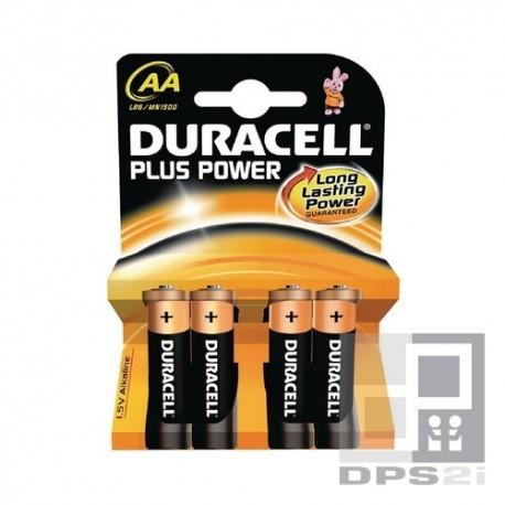 4 piles AA LR6 Duracell