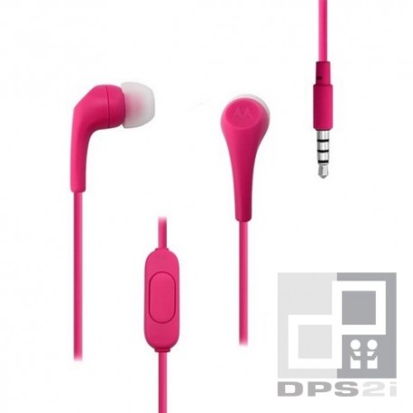 Écouteurs intra auriculaire Motorola rose earbuds 2