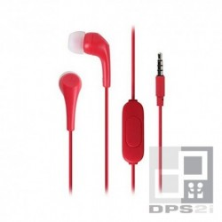 Écouteurs kit mains libres intra auriculaire Motorola rouge earbuds 2