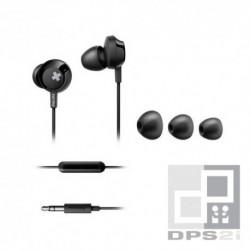 Écouteurs kit mains libres intra auriculaire Philips noir bass+