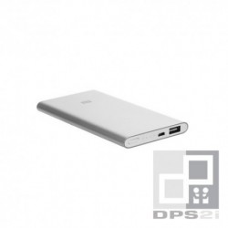 Batterie externe plate 5000 mAh argent Xiaomi ZMI