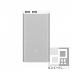 Batterie externe 10000 mAh 2 ports argent Xiaomi ZMI
