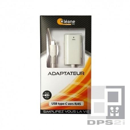 Adaptateur USB type C vers RJ 45