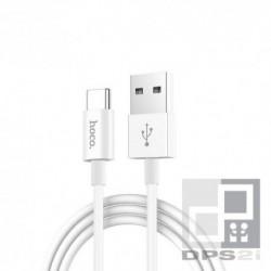 Câble USB type C 1m blanc