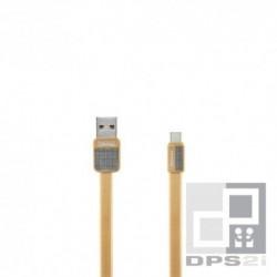 Câble USB type C 1m platinium or