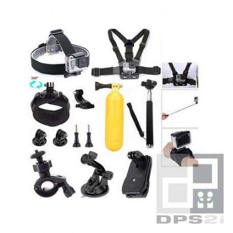 Kit accessoire universel pour camera action sport