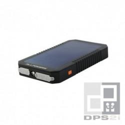 Batterie externe solaire 12000mAh USB duo 2.1A