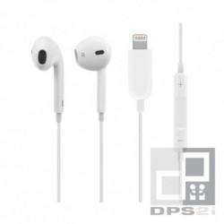 Écouteurs kit mains libres blanc lightning iphone
