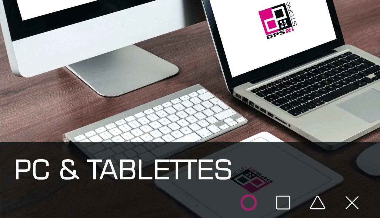 pc et tablettes
